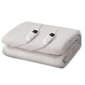 Giselle Bedding 9 Setting Fully Fitted Electric Blanket - King