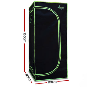 Weather Proof Lightweight Grow Tent - 80x80x160cm - Online Discounts