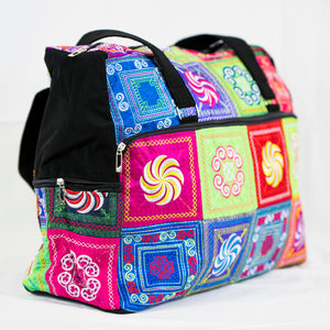 Mandala Design Overnight Bag