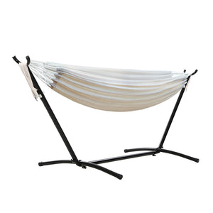 Outdoor Camping Hammock With Stand Cotton Rope