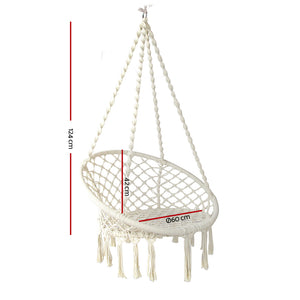 Hammock Swing Chair Cream - Online Discounts
