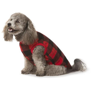 Red Check Dog Pyjamas Size Dachshund