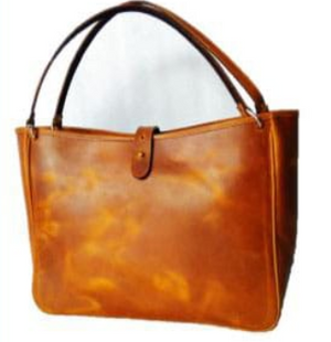 Crafted Bosski Leather Handbag