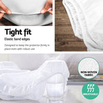 Giselle Bedding Single Size Waterproof Bamboo Mattress Protector