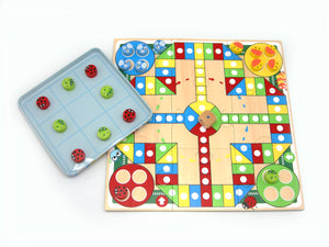 TIN BOX GAME - LUDO&TICTACTOE