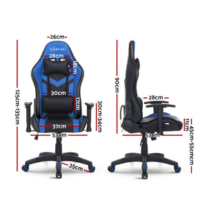 Gaming Office Chair RGB LED Lights