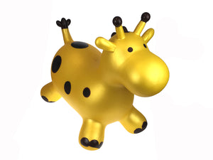 BOUNCY RIDER GOLD GIRAFFE