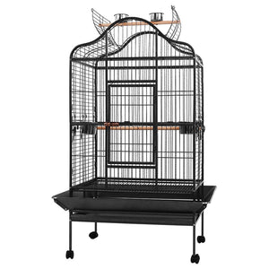 i.Pet Bird Cage Pet Cages Aviary 168CM Large Travel Stand Budgie Parrot Toys