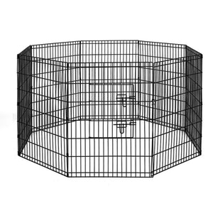 "i.Pet 2X36"" 8 Panel Pet Dog Playpen Cage Fence Play Pen"