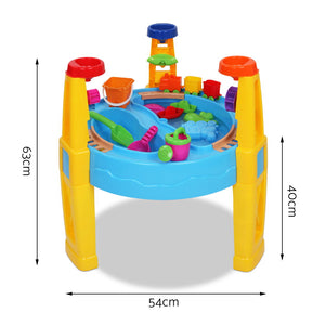 Kids Sand and Water Table Play Set with Umbrella - Online Discounts