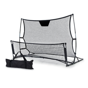 Everfit Portable Soccer Rebounder Net Volley Training Football Goal Pass Trainer