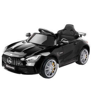 Kids Ride On Car MercedesBenz AMG GT R Electric Black