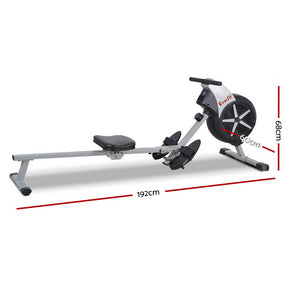 Rowing Machine with Air Resistance System - Online Discounts