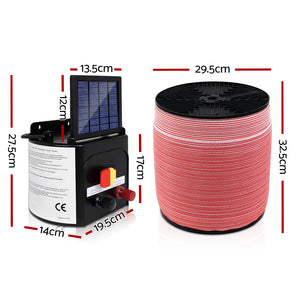 5km solar electric fence energiser