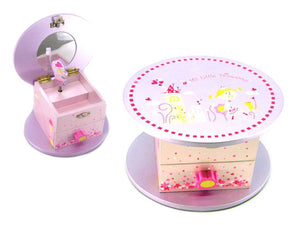 LIL PRINCESS MUSIC JEWELRY BOX