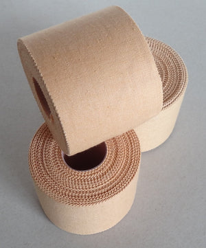 Premium Rigid Sports Strapping Tape - 3 Rolls of 50mm X 13.7M