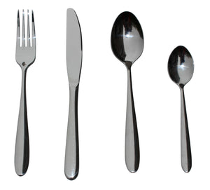 32 Piece Stainless Steel Cutlery Set Knives Fork Spoon Teaspoon