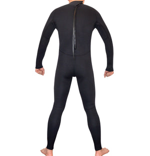 Mens Steamer Wetsuit Long Sleeve/Leg 3mm Neoprene Wet Suit - Extra Large