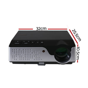 Devanti Video Projector-black
