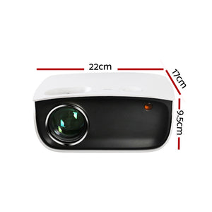 Devanti Mini Video Projector-White
