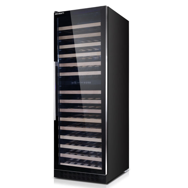 Devanti 155 Bottles Wine Cooler Compressor Fridge Chiller Commercial