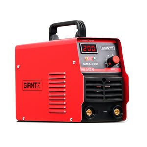 Giantz Inverter Welder Portable ARC MMA Stick DC Metal Welding Machine IGBT 200A
