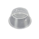 500 Pcs 750ml Take Away Food Platstic Containers Boxes Base and Lids Bulk Pack