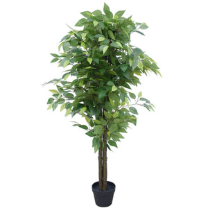 Artificial Bushy Ficus Tree 145cm