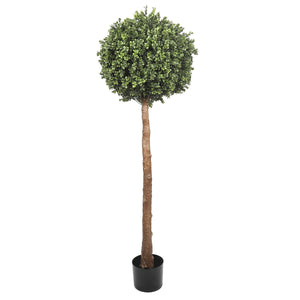 Single Ball Topiary Faux Tree 150cm UV Resistant