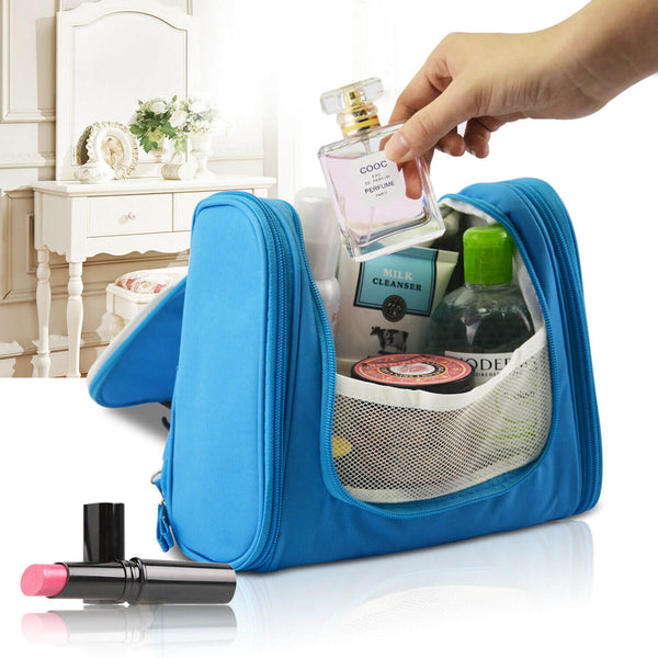 New Travel Cosmetic Makeup Bag Toiletry Case Folding Storage Large Bag Organiser