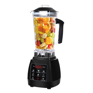 2L Commercial Blender Mixer Food Processor - Black