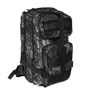 30L Outdoor Camping Army Bag
