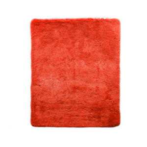 Designer Soft Shag Shaggy Floor Confetti Rug Carpet Home Decor 120x160cm Red