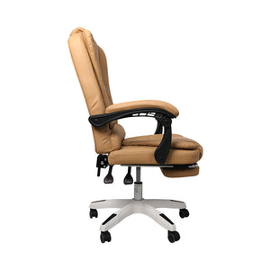 Gaming Chair Office Computer Seat Racing PU Leather Executive Footrest Racer