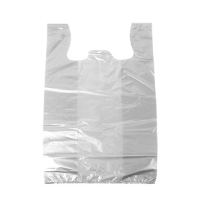 300pcs Plastic Singlet Bags Carry Bag Grocery Shopping Checkout 30x52x18cm Large
