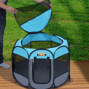 Durable Water-resistant Poratble Foldable 8 Panel Pet Playpen