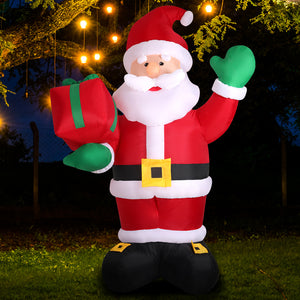 Inflatable Christmas Santa Snowman with LED Light Xmas Decoration Outdoor Type 6