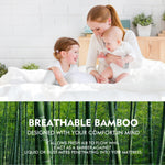 Fitted Waterproof Breathable Bamboo Mattress Protector Super King Size