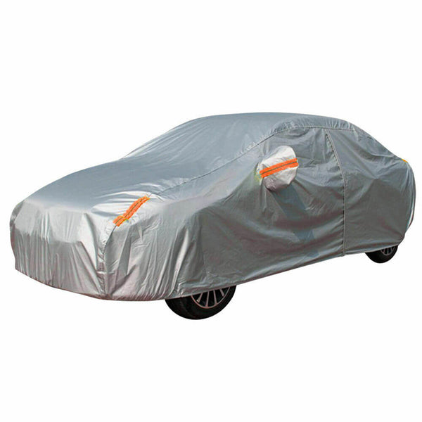 Waterproof Adjustable Large Car Covers Rain Sun Dust UV Proof Protection YXXL