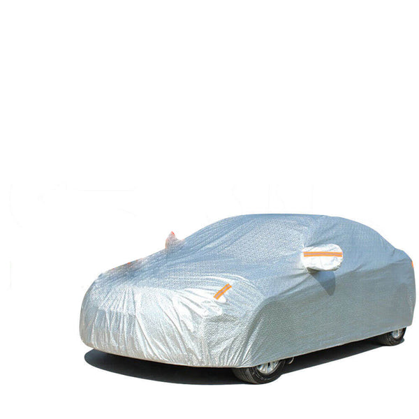 Waterproof Adjustable Large Car Covers Rain Sun Dust UV Proof Protection 3XL