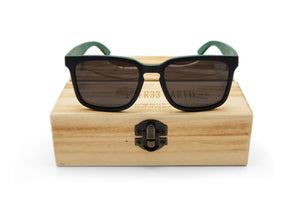 Skate Sunglasses Turtle Green