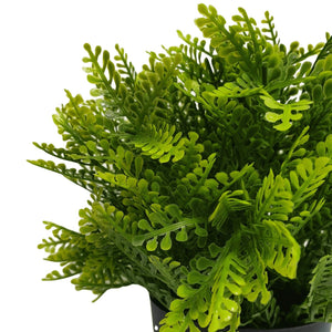 Small Potted Artificial Mimosa Fern UV Resistant 20cm