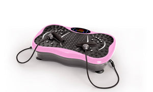 Exercise Vibration Machine Pink