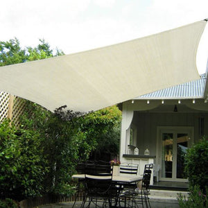 Waterproof 2m X 4m Outdoor Sun Shade Sail Canopy Rectangle