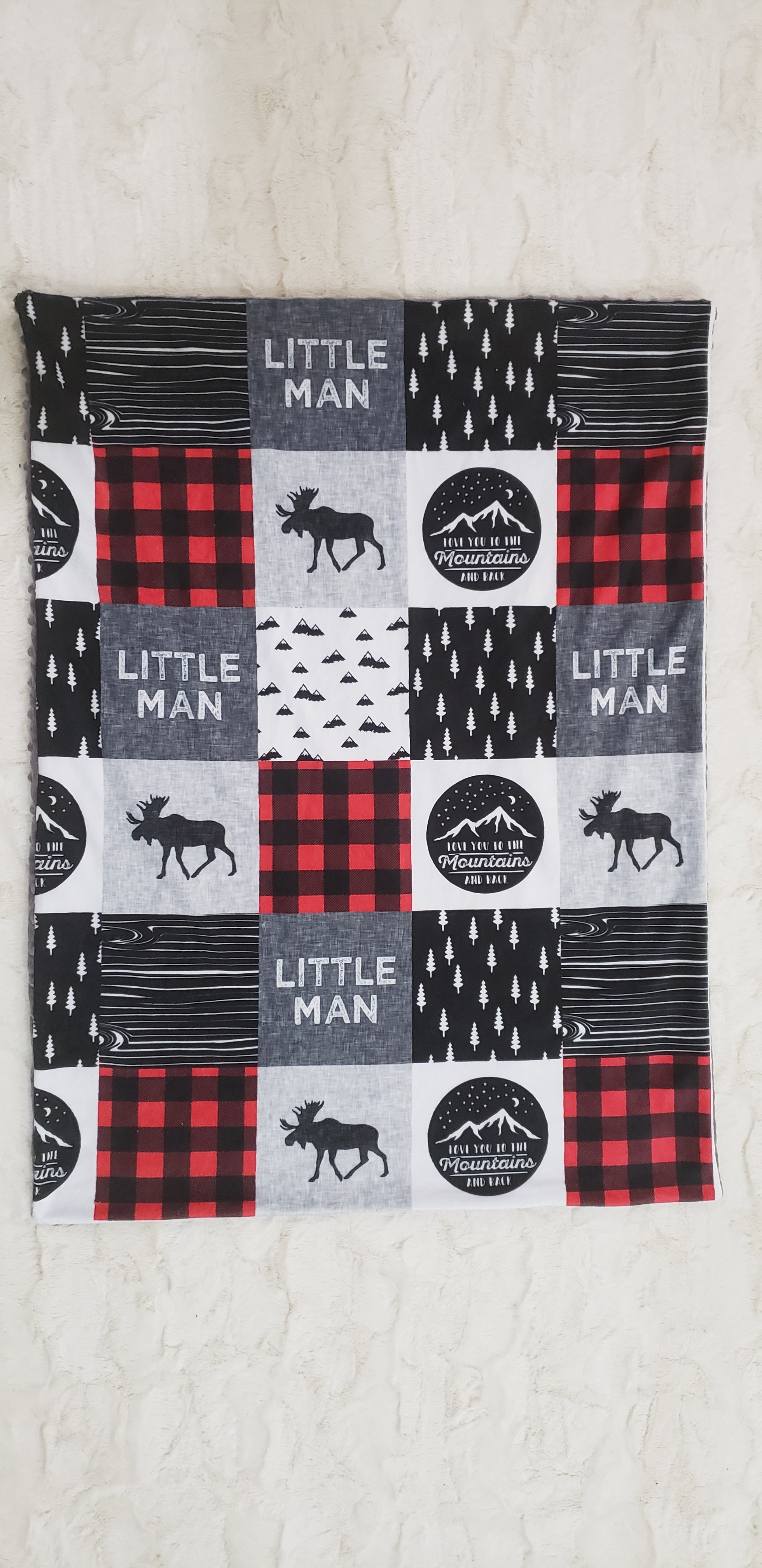 Little Man Blanket