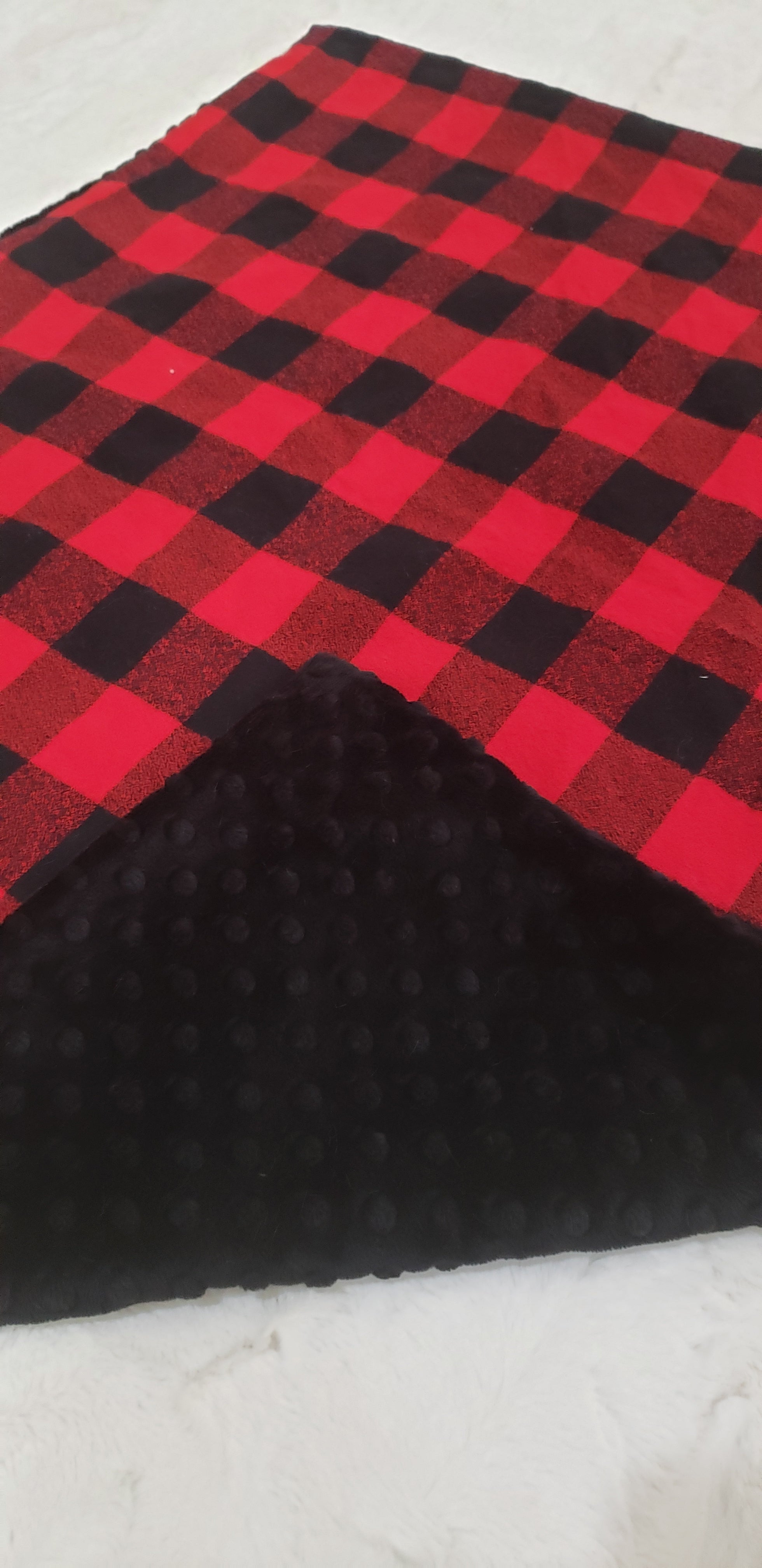 Red Plaid Blanket
