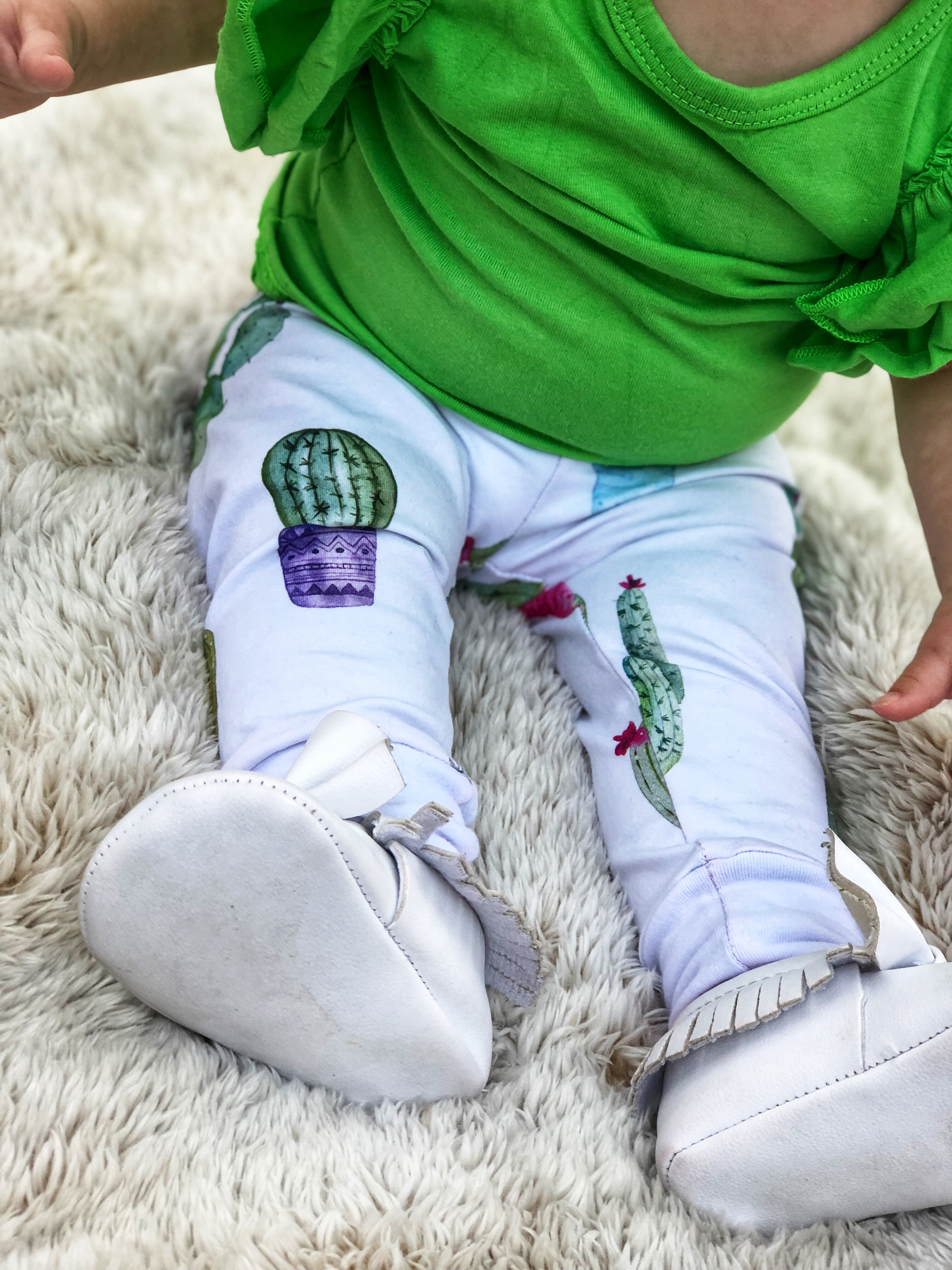 boy or girl designer cactus leggings