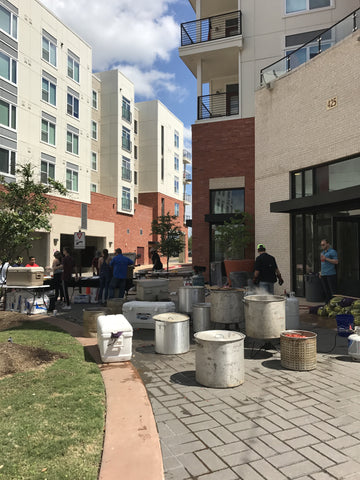 North Point Crossing Onsite Crawfish Boil Photos