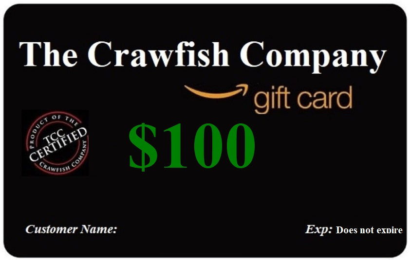 The Crawfish Company Gift Card