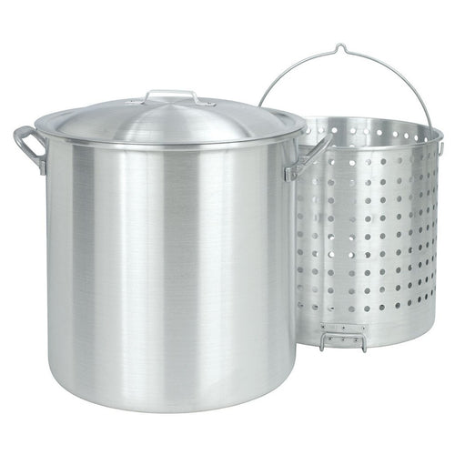 120 Qt Aluminum Crawish Stock Pot